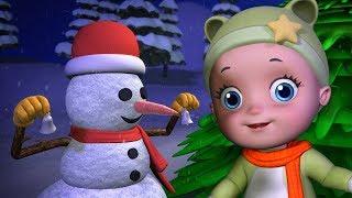 The stars are shining, The snowman's smiling - Christmas Songs for Children | Infobells