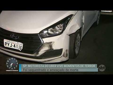 Motorista de aplicativo vive momentos de terror nas mãos de bandidos   Primeiro Impacto (13/02/17)