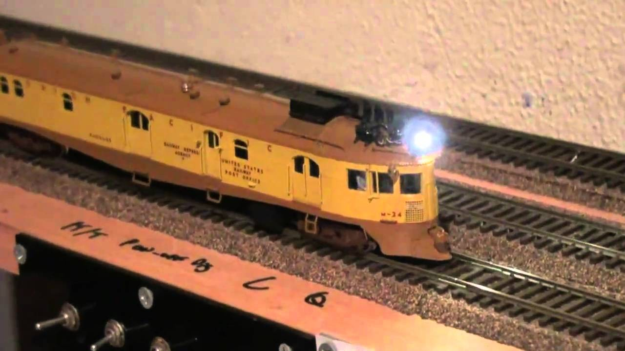 Union Pacific Mckeen Motor Car M 24 Omi Ho Scale With