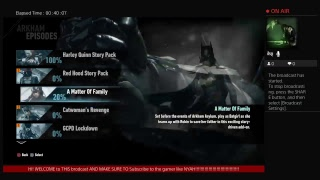 Batman arkham episodes