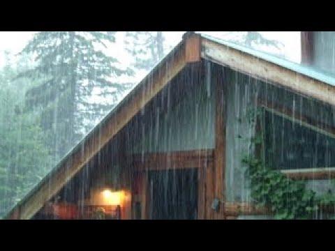Rain on Metal Roof-for sleeping and Relax-Шум дождя по крыше, релакс и медитация