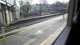 300 empty seats flash past Sevenoaks station
