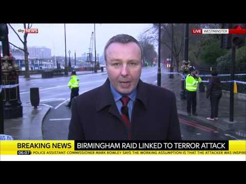 Sky sources: Birmingham police raid is linked to London terror