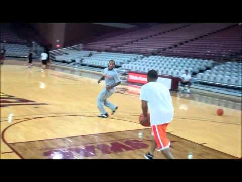Josh Gray,Tommy Mason-Griffin, PJ Hardwick (Elite PG Workout) w/ Chris Gaston--Houston Preps