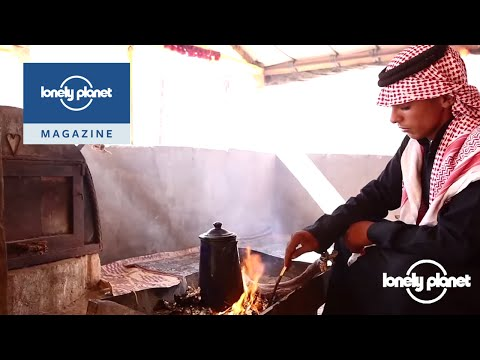 Making coffee in the lost city of Petra - Lonely Planet travel videos