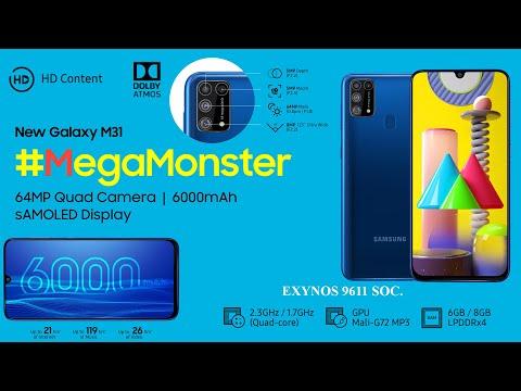 Samsung Galaxy M31 unboxing // Ocean Blue, 8GB RAM, 128GB Storage