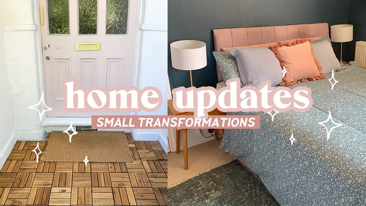 Decorating and doing projects around the house | Easy home transformations 🏡