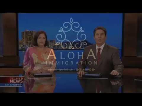 Senator Hirono, AG Chin and Aloha Immigration