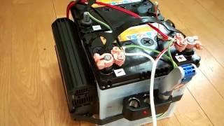 ⑤NV350 車中泊車 室内DIY 紹介です。⑤サブバッテリー