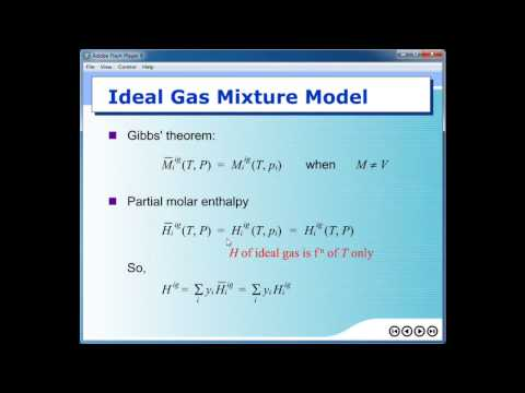Chemical Engineering Thermodynamics II Flipped-class video #