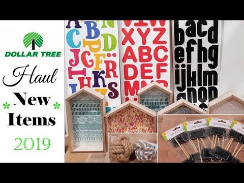 Dollar Tree Haul *NEW ITEMS* May 2019 & Changes at Dollar Tree??