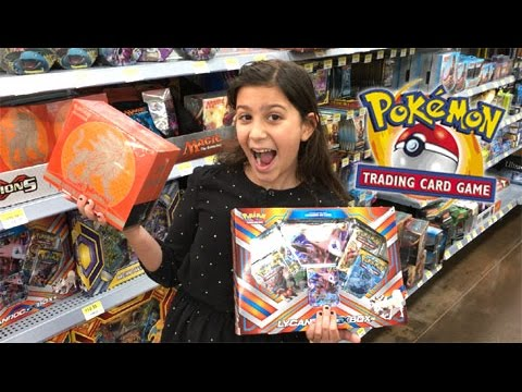 SPECIAL GUEST! - BUYING POKEMON CARDS WITH 9 YEAR OLD KID COUSIN AT WALMART!