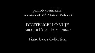 Скачать DICITENCELLO VUJE Backing Track Rodolfo Falvo Enzo Fusco Piano Bases Collection