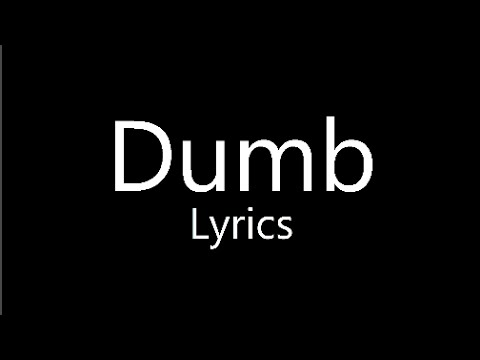 Dumb - Todrick Hall (Lyrics) - Straight Outta Oz
