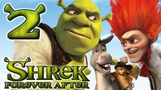 Shrek Forever After Walkthrough Part 2 (PS3, X360, Wii, PC) - The Swamp (1)