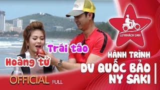 Lữ Khách 24h | Hành trình full | Ny Saki và chuyến phượt lãng mạn cùng Quốc Bảo tại Vũng Tàu.
