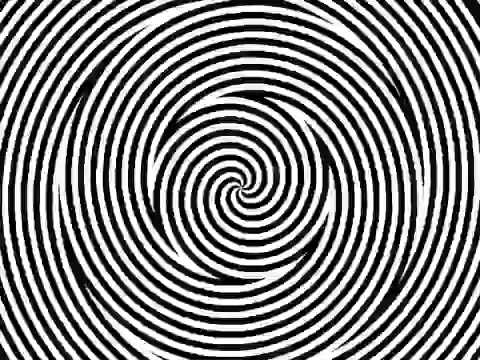 optical illusion- Look at the dot