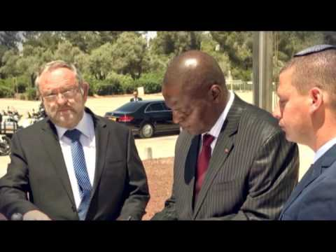 President of Central African Republic Visits Israel
