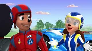Микки и весёлые гонки - мультфильм Disney про Микки Мауса и его машинки (Сезон 1 Серия 22)