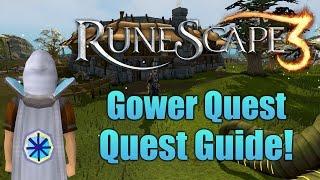 Runescape 3: Gower Quest Quest Guide! thumbnail