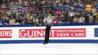 Yuzuru Hanyu FS Worlds 2014 Saitama
