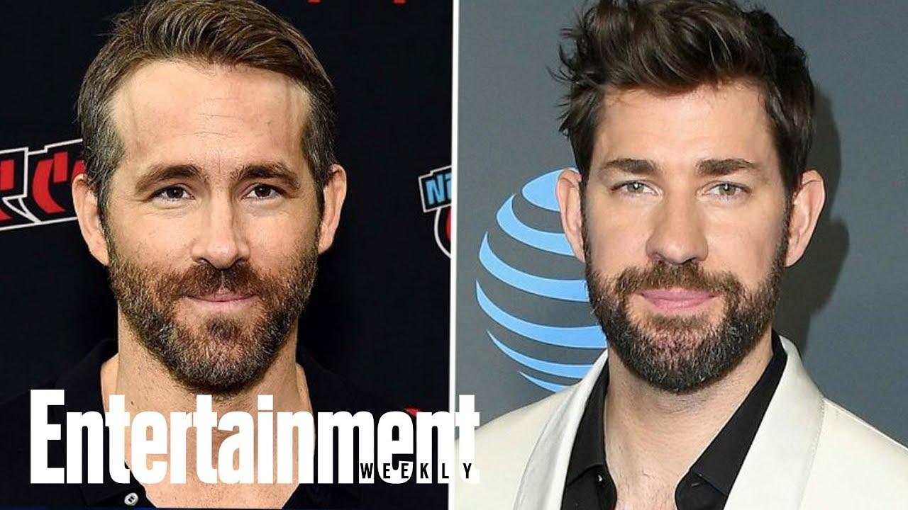 Ryan Reynolds, John Krasinski Lead Comedy 'Imaginary Friends' | News Flash