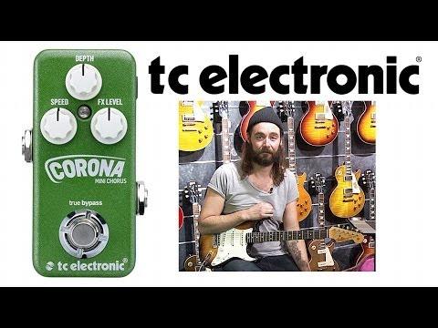 TC Electronic Corona Mini Chorus - First look Demo