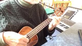 Gotta Travel On - solo ukulele - Arranged & played by Colin Tribe