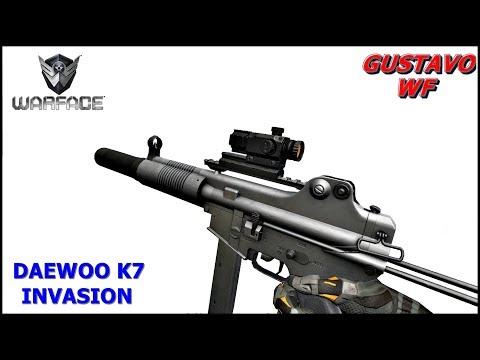 WARFACE gameplay Daewoo k7