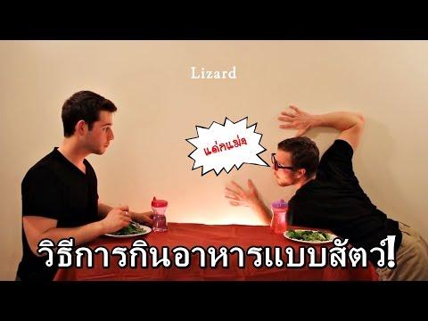 8 วิธีการกินอาหารเลียนแบบสัตว์ป่า!! (พากย์นรก)