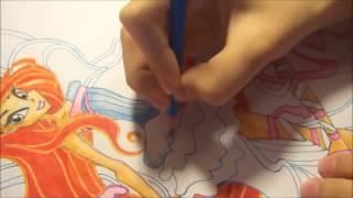 Как я рисую Winx / Блум #13 - 2 часть(Спасибо вам большое за подписку и лайк! :3 ---------------------------------------------------------------------------------------------------- Тоже хочешь..., 2015-01-31T19:07:04.000Z)