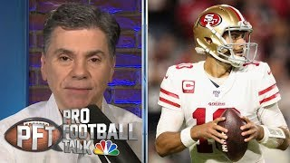 Is San Francisco 49ers' Jimmy Garoppolo ready for playoff debut? | Pro Football Talk | NBC Sports