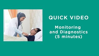 Monitoring and Diagnostics in Care of COVID-19 Patients