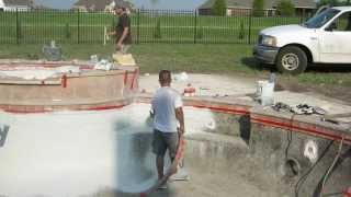 Buliding A Custom Gunite Inground Swimming Pool Start To Finish
