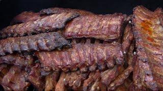 werthers echte bbq spare ribs vom smoker klaus grillt