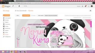 Como usar el Editor HTML de Blogger {2014}
