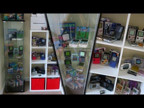 The Biggest Retro Handheld Collection?