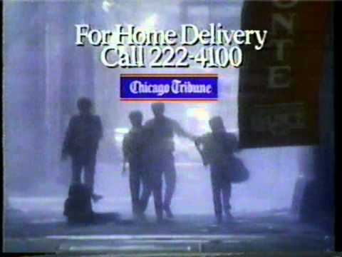 1986 CHICAGO TRIBUNE Ad