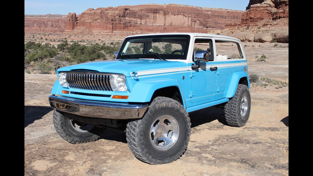 2015 Easter Jeep Safari Special Jeep Concept Drive In Moab, Utah   YouTube