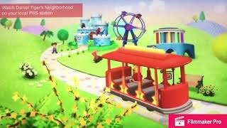 Daniel Tiger's Neighborhood Theme Song (Reversed) (High Pitched In G)