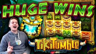 HUGE WINS on Tiki Tumble Slot - £4 Bet