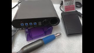 Видеообзор машинки для маникюра DR-248 (wi-fi)