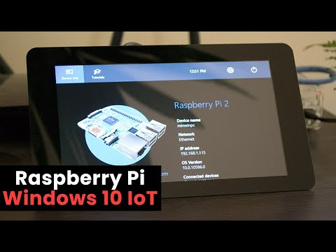 How to Install Windows 10 IoT Core for Raspberry Pi 2 - YouTube