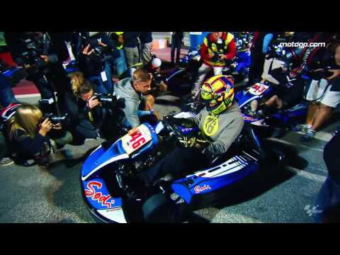 MotoGP Riders Honour Simoncelli With Kart Race