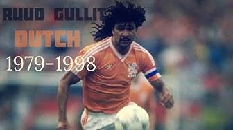 Ruud Gullit- Goals & skills- 1979/1998 dutch - HD
