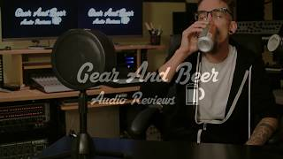 Gear And Beer Audio Reviews: Solomon SubFreq (SubKick Microphone)