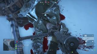 Battlefield V - Frontlines Small on Fjell 652 Map: Major Victory! Medic PS4 Pro Gameplay (2018)