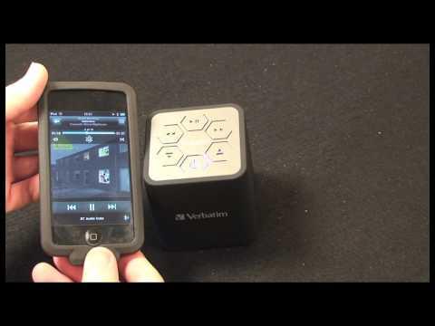 Verbatim Bluetooth Audio Cube Speaker Review