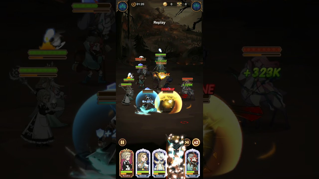 AFK Arena Stage 25-54 F2P - YouTube