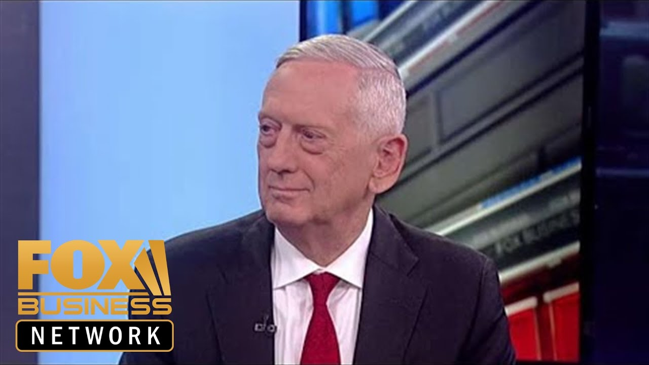 FOX News James Mattis on leaving the Trump admin, tensions with Iran